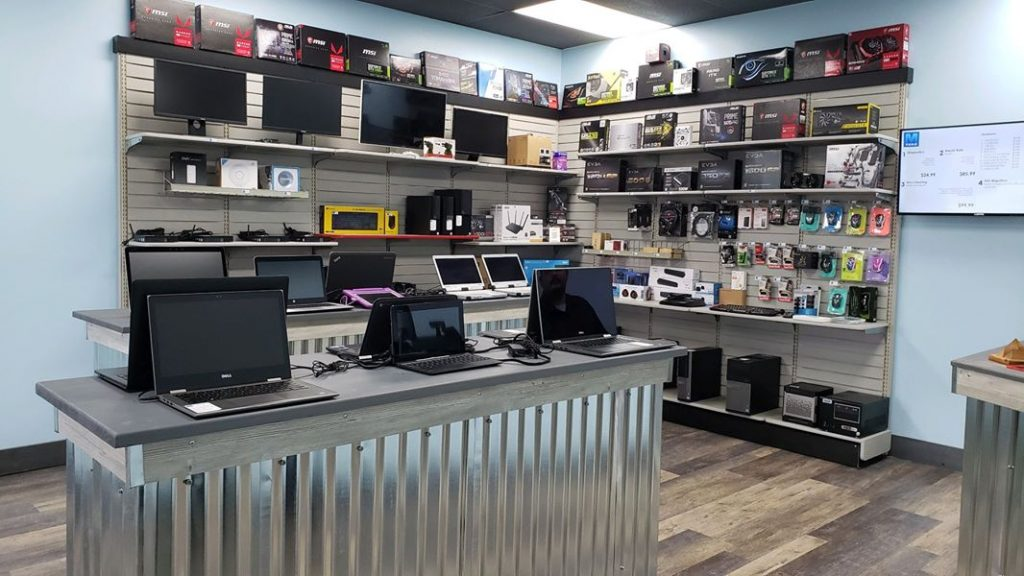 Computer Store Inside